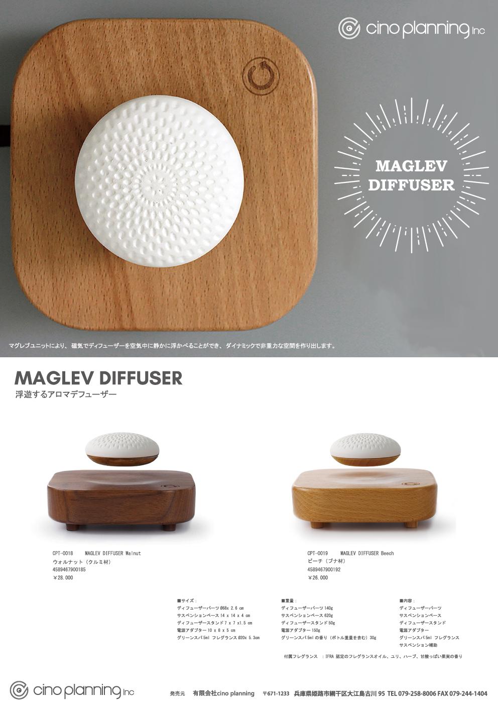MAGLEV DIFFUSER